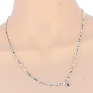 "David Yurman 18"" Small Box Chain Necklace"